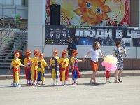 Сегодня в Берёзовском проходят мероприятия, посвящённые Дню защиты детей.
