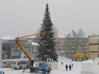 Полным ходом идёт подготовка к новому году в Березовском.