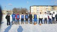 Открытый турнир по мини-футболу в валенках на снегу  среди работающей молодежи Березовского городского округа
